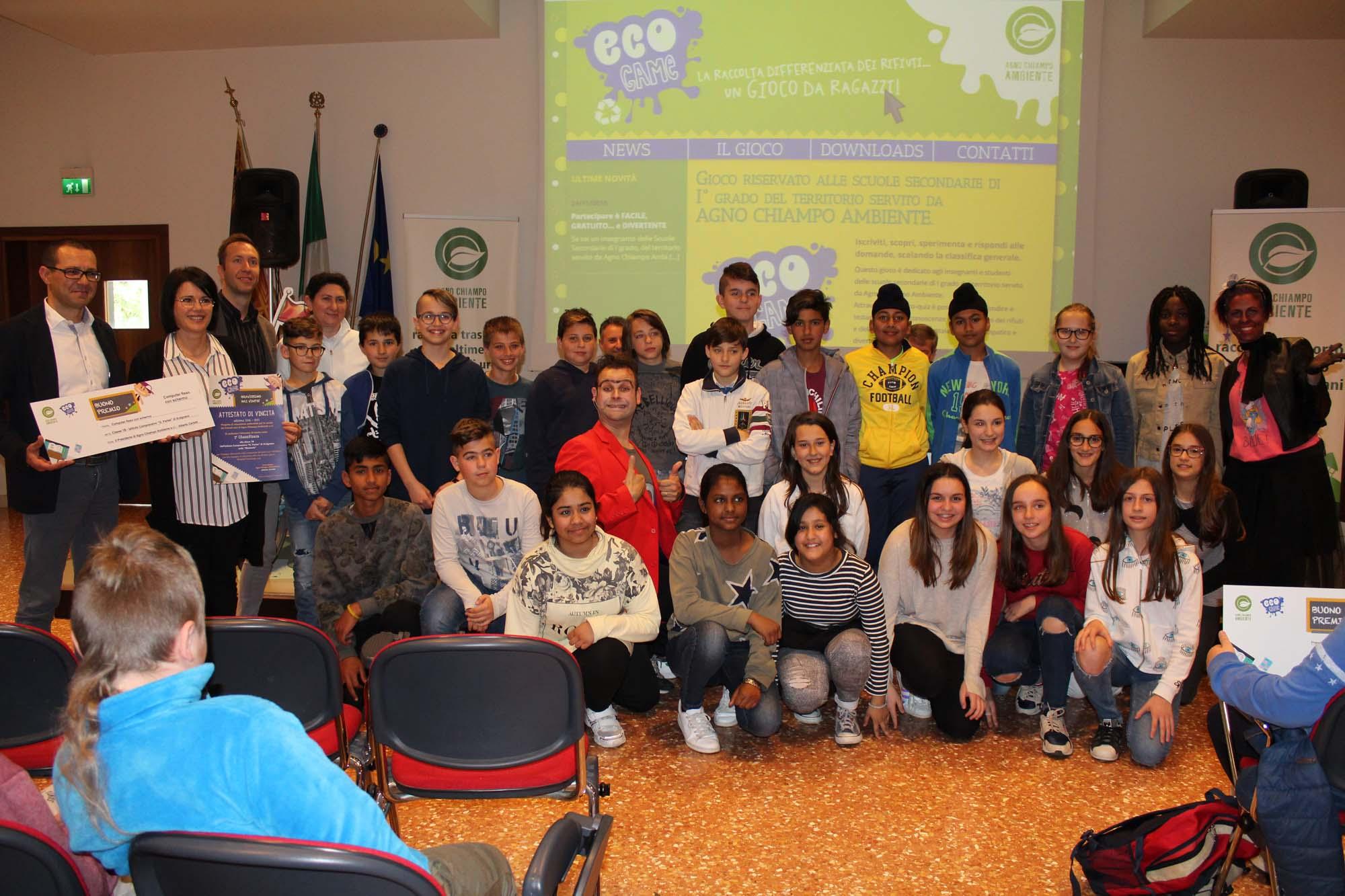 1° classificata classe I B istituto Parise Arzignano